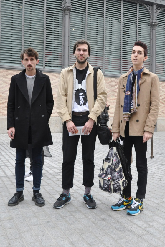 Made in Barcelona, 080 Barcelona Fashion, Winter edition, part 1, 2014, Street Style, Mercat del Born, men trend, Open Area, fashion bloggers, PimPamMate